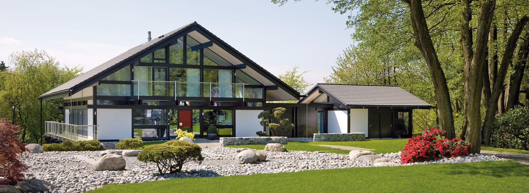 Huf Haus Grundriss projektbeispiel huf haus 5 modernes fachwerkhaus fertighaus