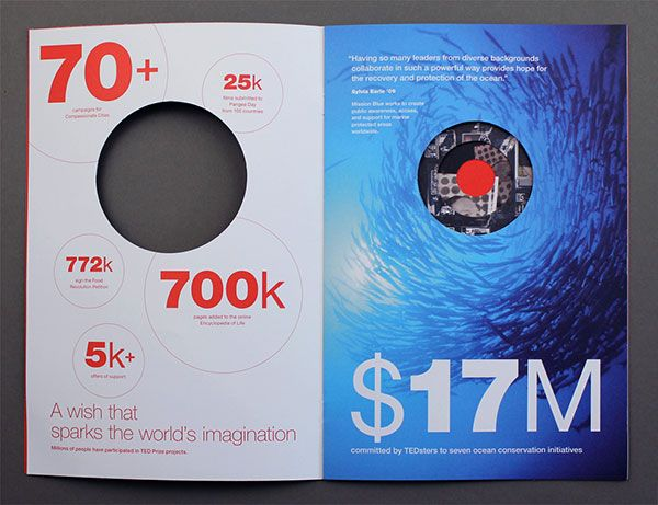 TED Creative Brochure design Ideas 4 20 Best Examples of Brochure - brochure design idea example