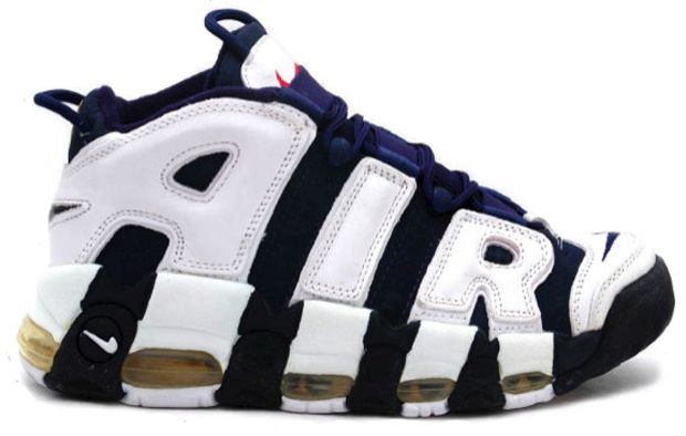 Worn By: Scottie Pippen \u0026 Charles Barkley Nike Air More Uptempos, Worn By: