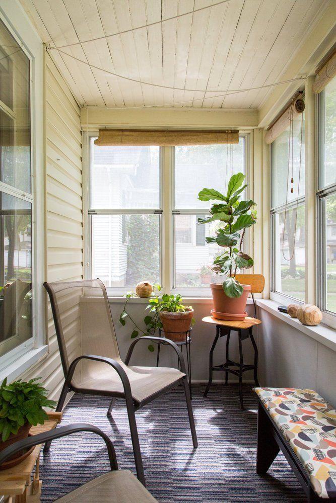 A Cozy & Creative DIY Minneapolis Retreat | Sunroom ...