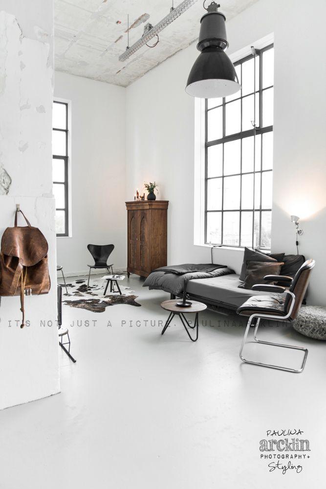 kleur- en stijlpallet  witte basis als uitgangspunt: radiartorcovers dekkend wit lakken