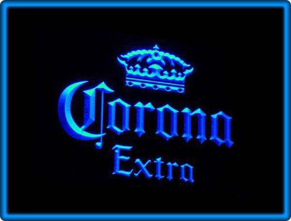 Corona Extra Beer Bar Pub Restaurant Neon Light Sign
