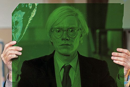 Andy Warhol in Creepy Green