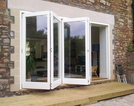 Timber Folding Doors - Cumbria - Hardwood folding sliding doors near ...