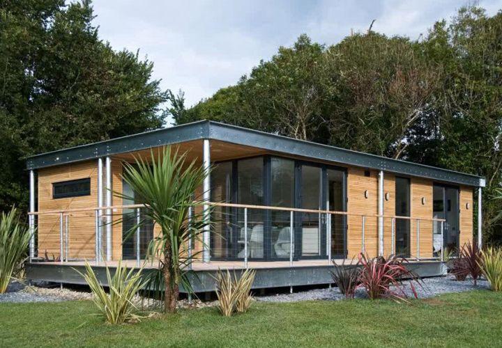 Backyard Cottage Prefab Design House Plan Affordable: Modern Prefabricated Homes Ontario