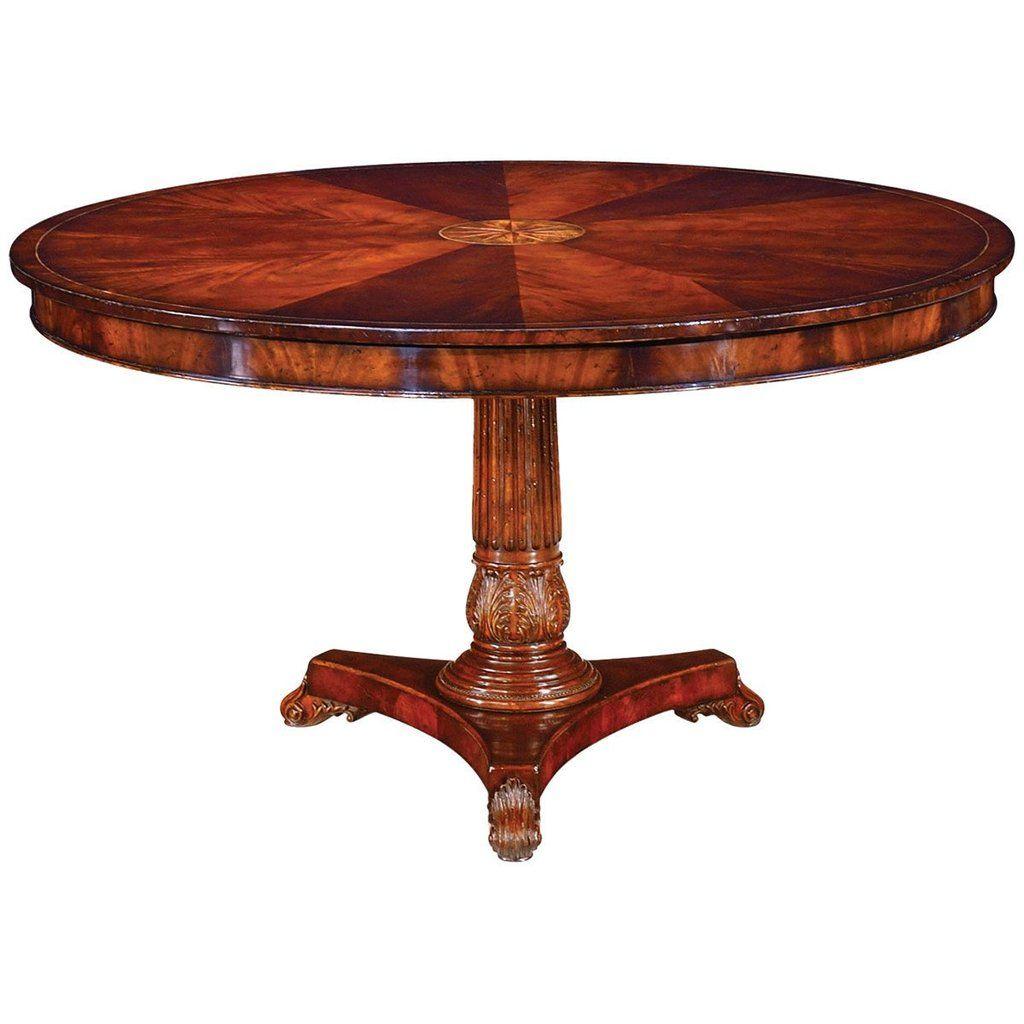 "Buckingham 54"" William IV Mahogany Centre Table"