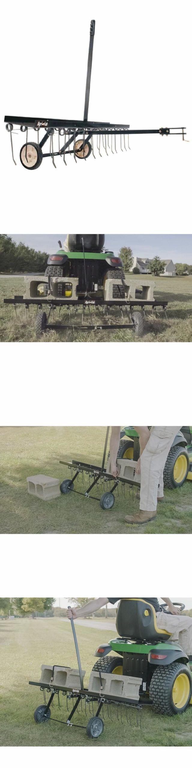 Lawn Aerators 115775 Dethatching Rake Blade Lawn Tractor