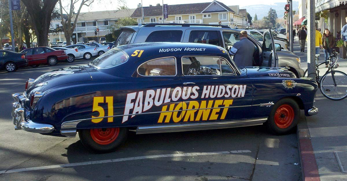 50 Awesome Cars With Cool Names Hudson Hornet Hudson Car