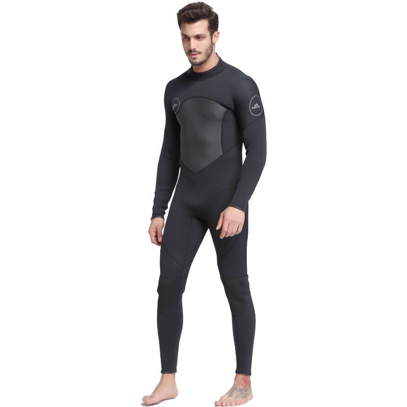 9a5e15305f 3MM Neoprene Mens Full Body Wetsuit Long Sleeve Zipper Surfing Scuba Diving  Suit (eBay Link)