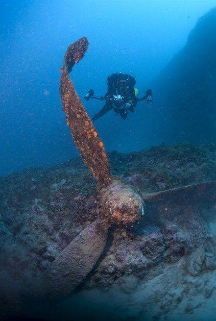 Vis / Croatia / dive / shipwreck