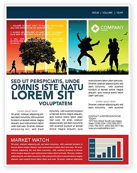 Investment Securities Company Newsletter Template By Stocklayouts