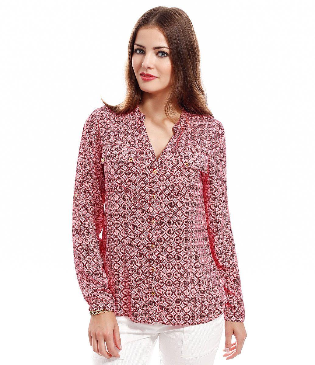 e2834299b6 Camisa Feminina Estampada - Lojas Renner