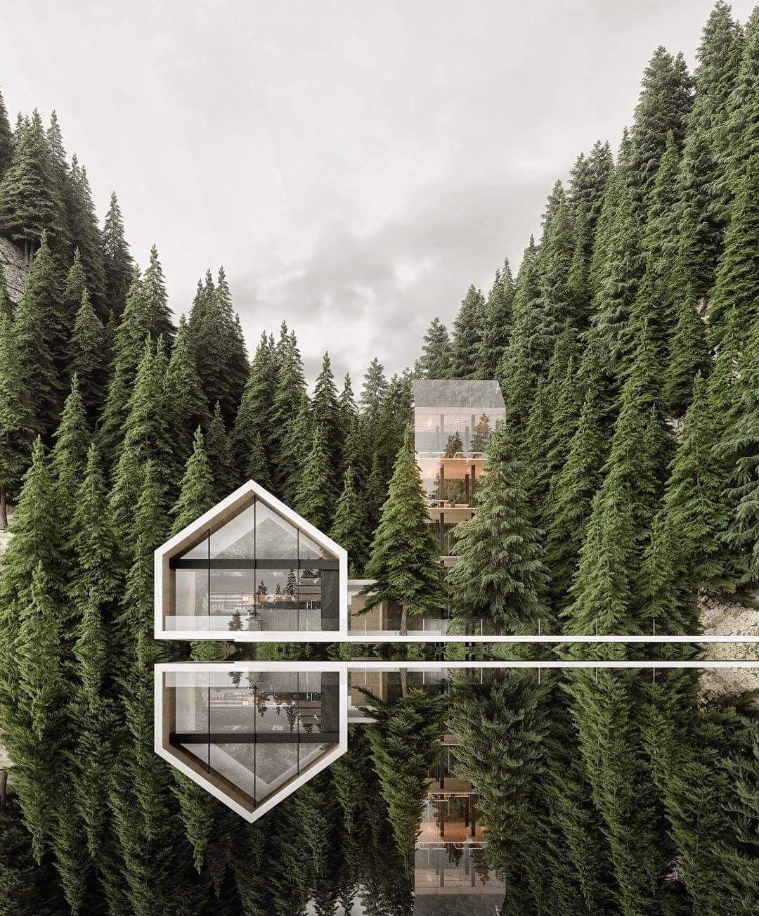 Resturant In Switzerland By Alex Nerovnya Architect