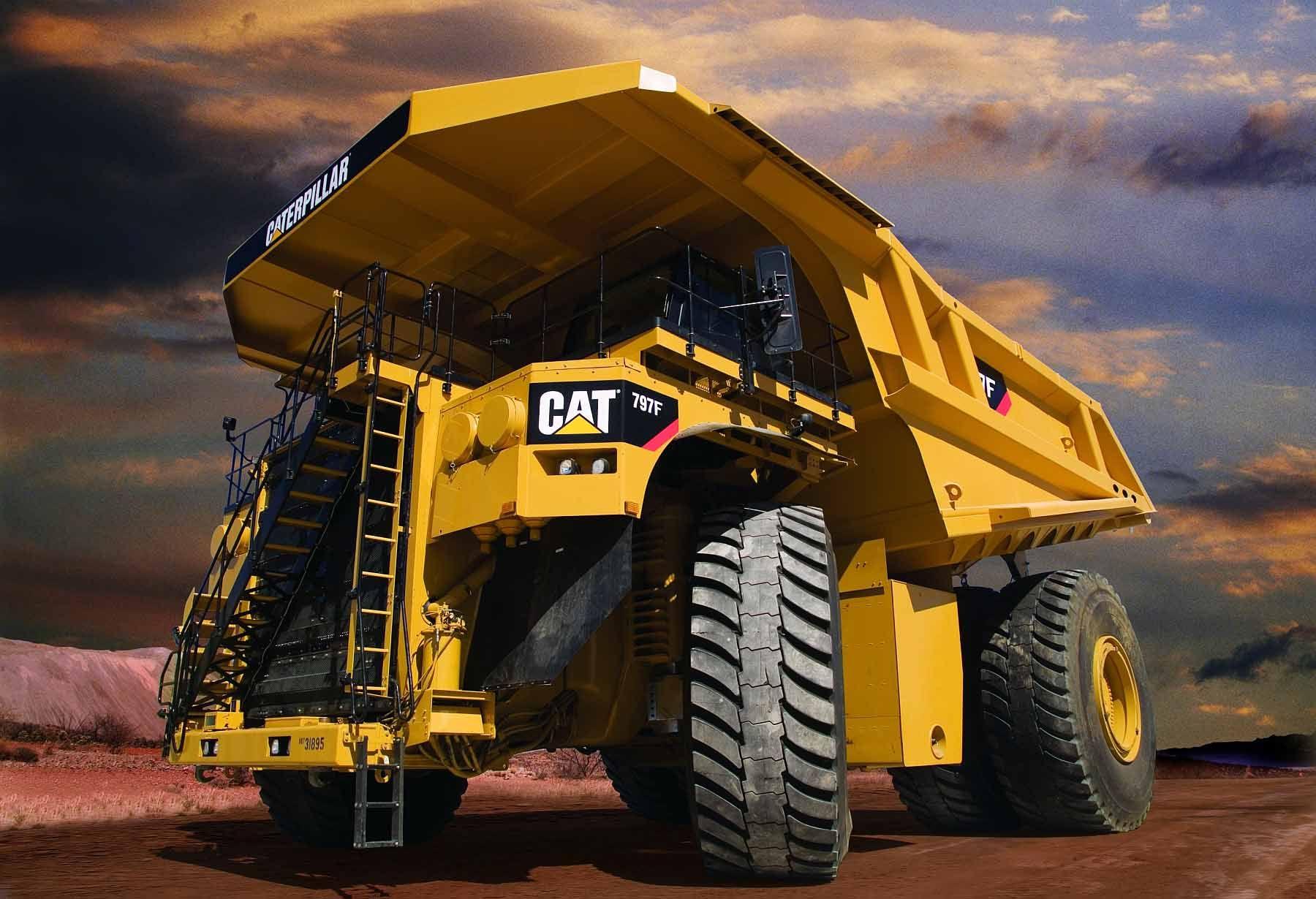 Cat 797f cat 797f 1 16 trains heavy construction equipment caterpillar equipment - Caterpillar wallpaper ...