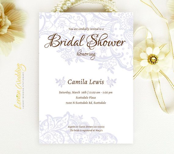 elegant wedding shower invitations printed on white shimmer cardstock cheap wedding shower party invites couples shower