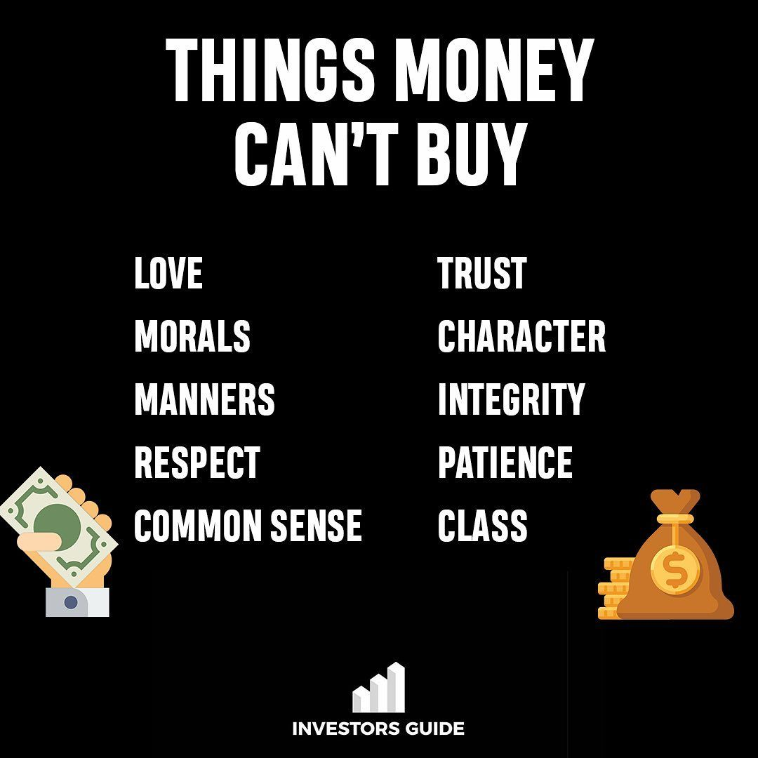 Which of these things do you think is the most valuable