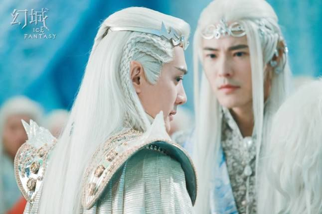 Ice fantasy Prince Ka Suo and his brother another Ice Clan Prince.