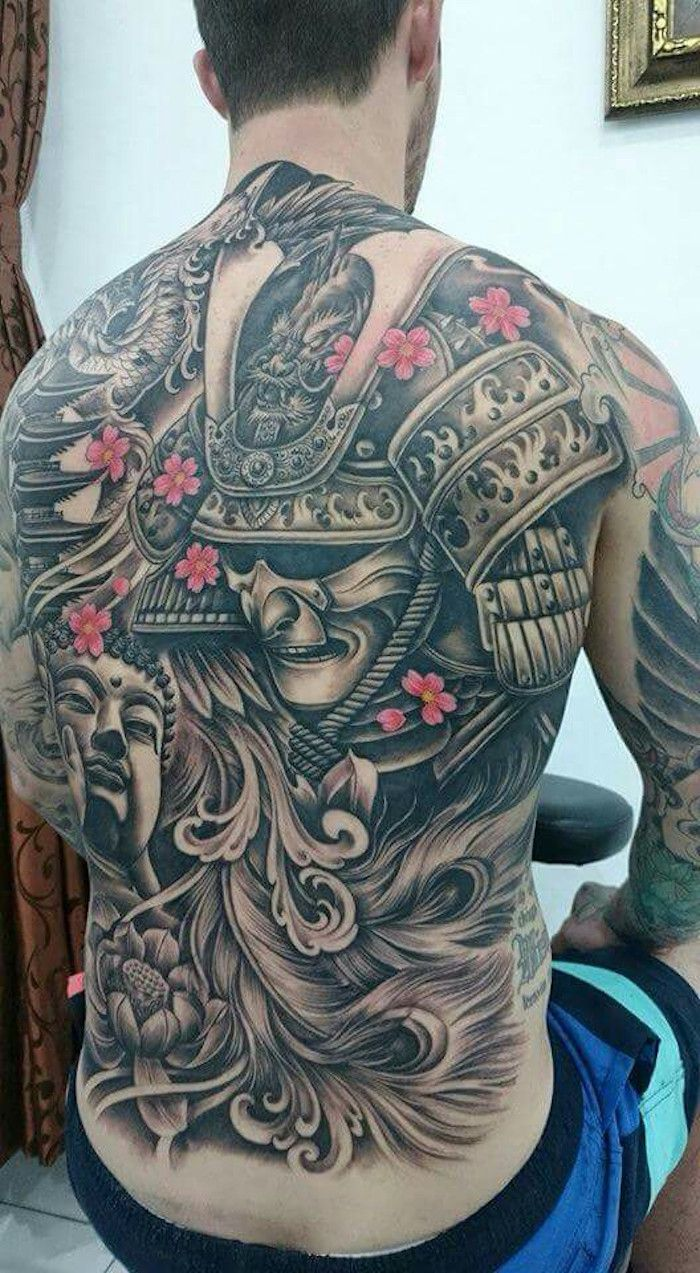Tatouage Samourai Le Tattoo Des Guerriers Tatoo Tattoos