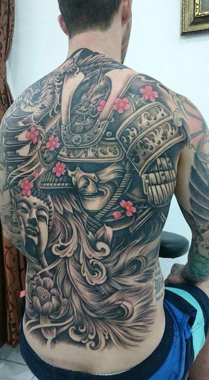 tatouage samourai le tattoo des guerriers tatouage samourai samourai et guerriers. Black Bedroom Furniture Sets. Home Design Ideas