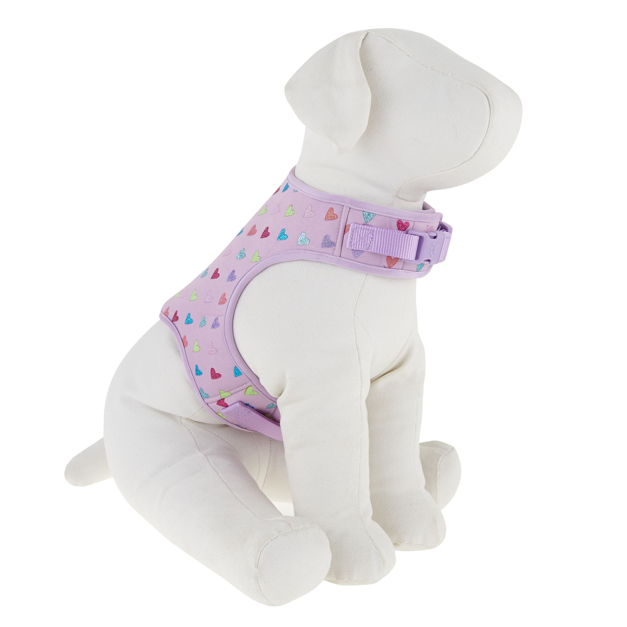 Top Paw Hearts Vest Puppy Dog Harness Size X Small Dog Harness