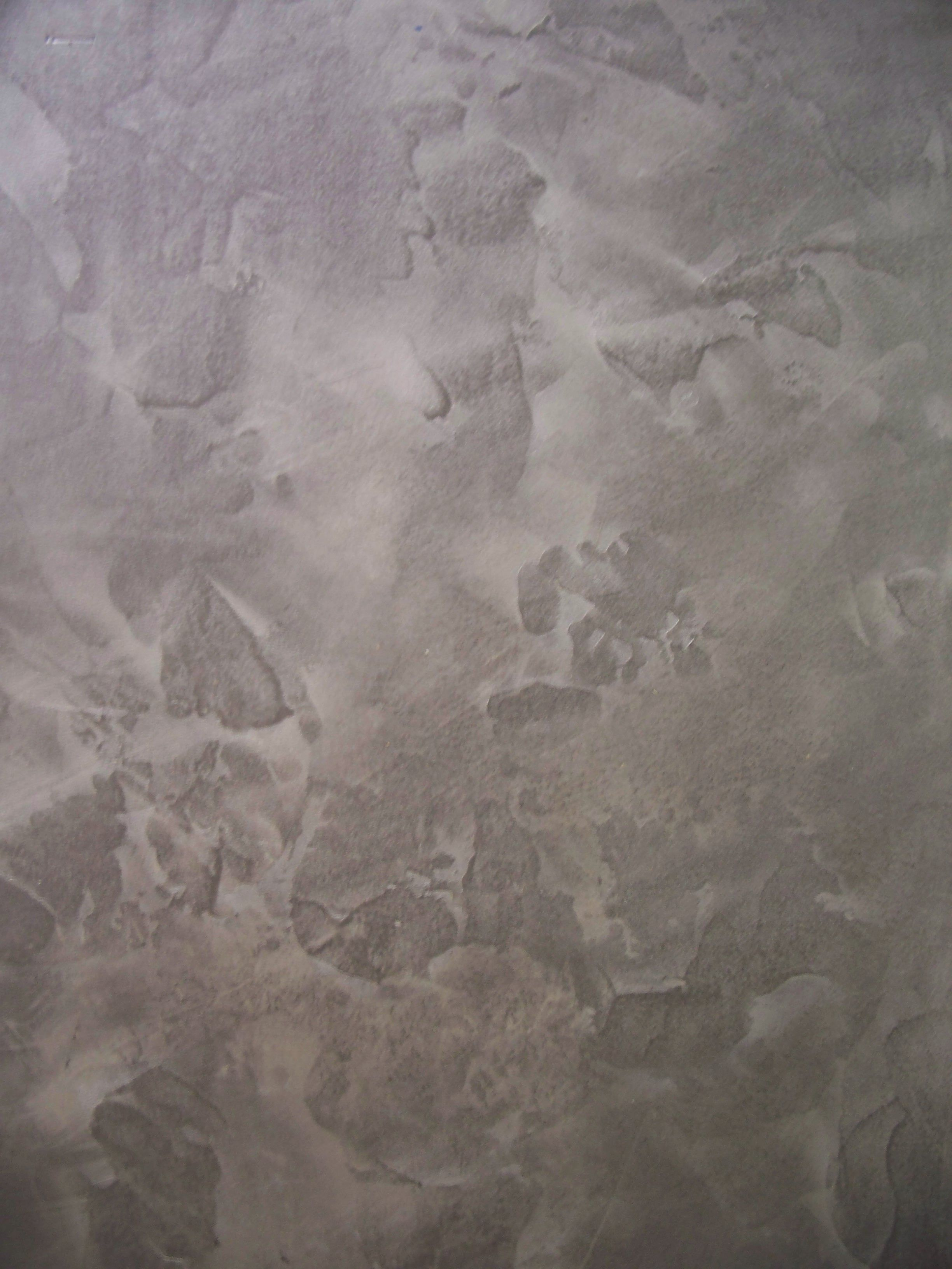 Troweled Modern Masters Metallic Plaster And Glazed With Modern Masters