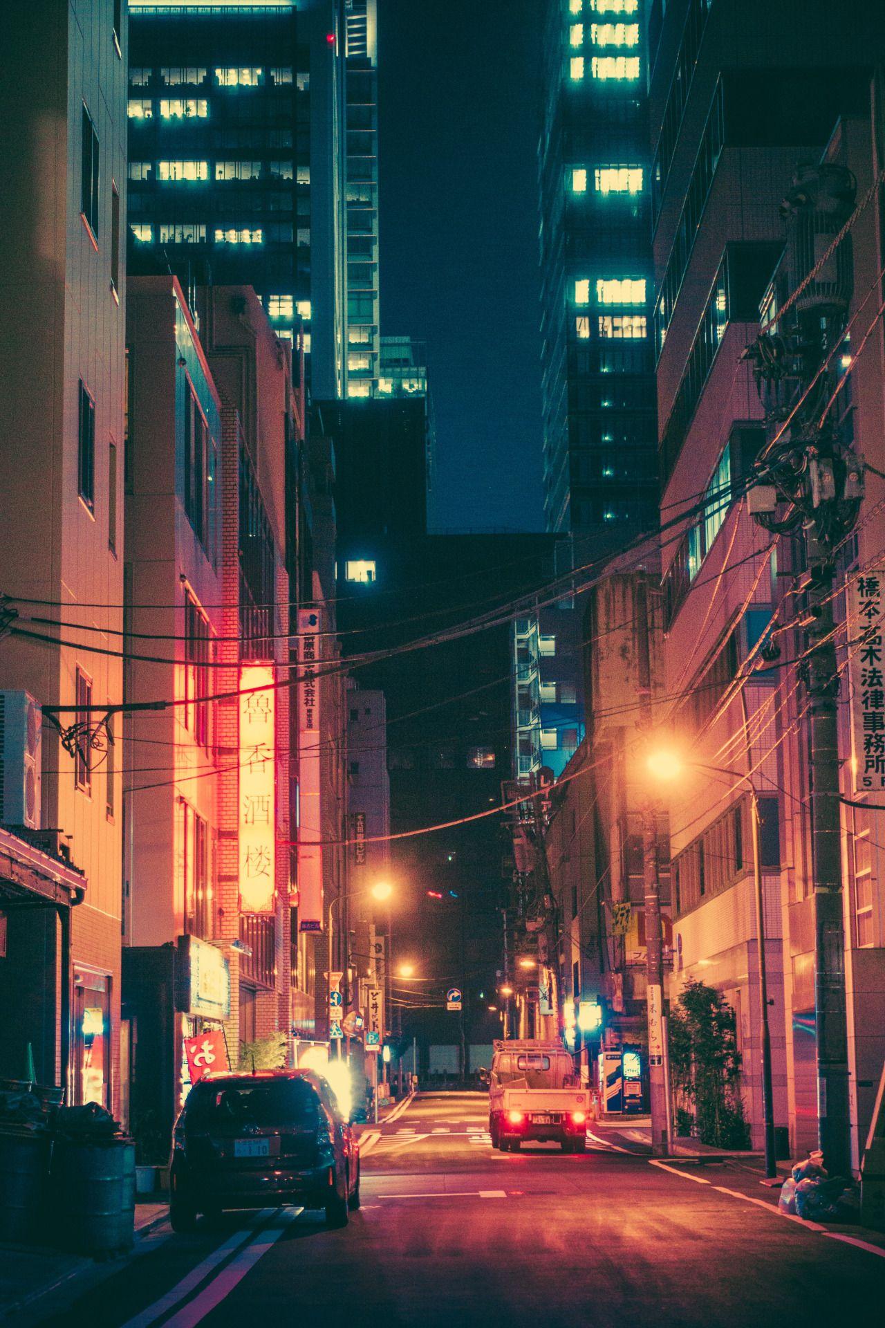 本当に馬鹿でした Photo City Aesthetic City Photography Night Aesthetic