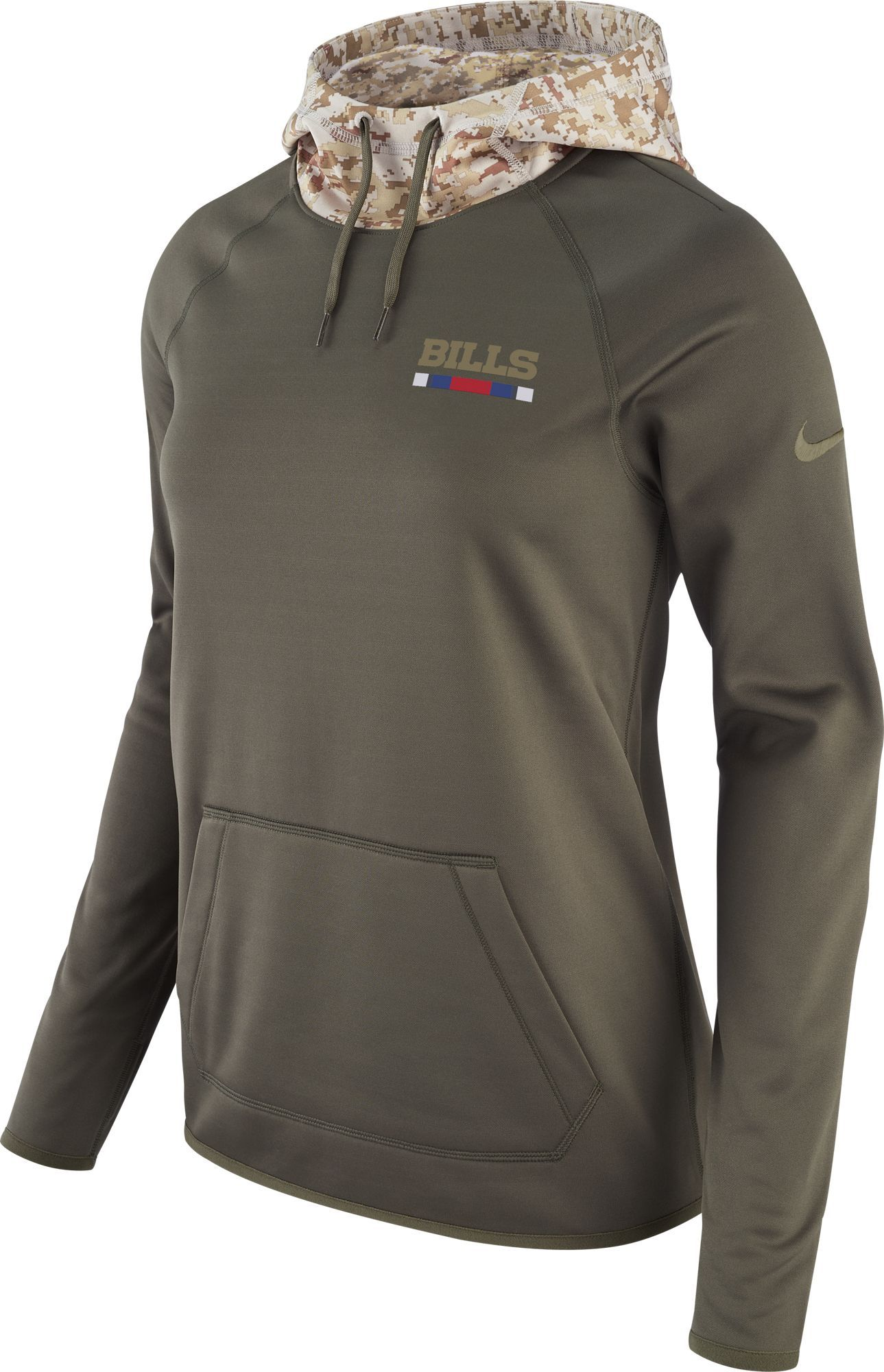 Nike Women s Buffalo Salute to Service 2017 Therma-FIT Performance Hoodie cff593245