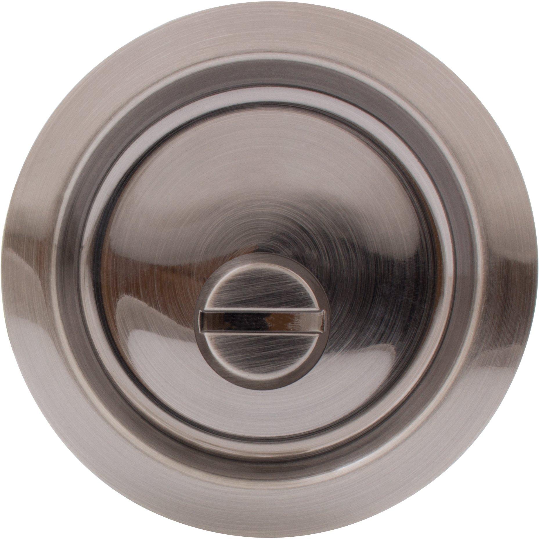 Round Pocket Door Lock Bed/Bath (Privacy) Latch Pocket