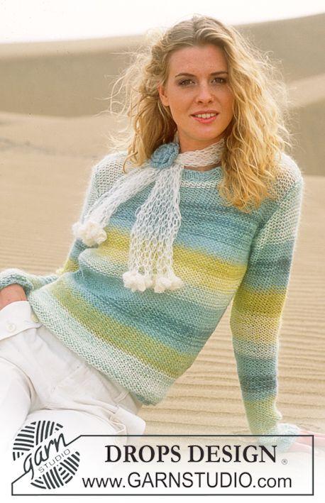 Free Pattern | puloveres a rayas | Pinterest | Rayas