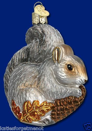DONKEY OLD WORLD CHRISTMAS GLASS NATIVITY FARM DEMOCRAT ORNAMENT NWT 12312