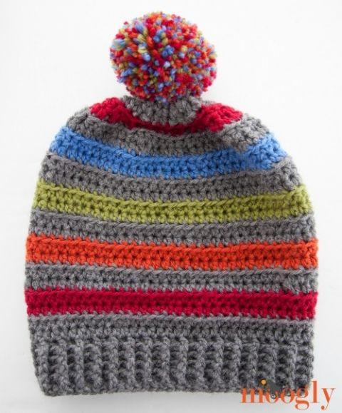 Free #Crochet Pattern: A Very Good Hat on Moogly!
