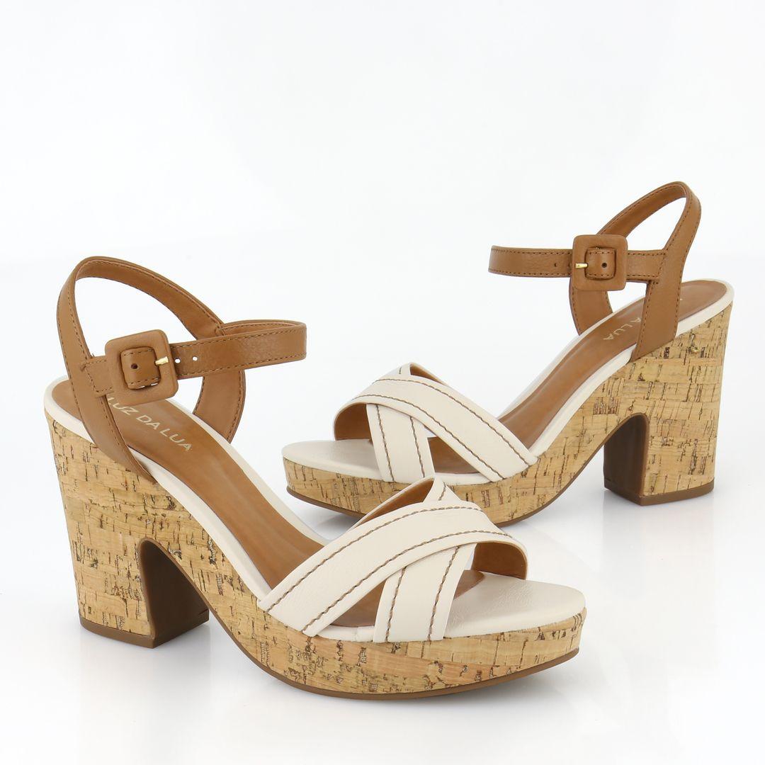 Sandália Feminina Luz Da Lua Penélope - 224320 - Anita Shoes