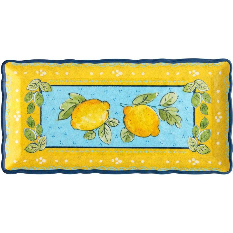 Le Cadeaux Citrone - Rectangular Biscuit Tray