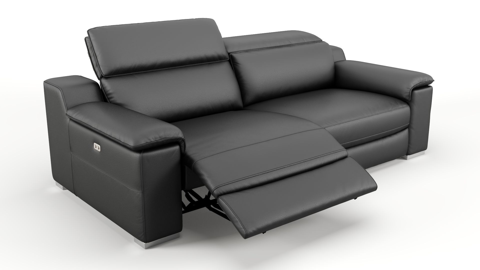 Designer couch 3 sitzer sofa mit relaxfunktion for 3 sitzer sofa mit relaxfunktion
