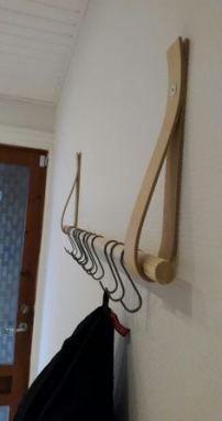 Pin By Debbie Crickon On Display Diy Coat Rack Diy Clothes Rack Diy Wardrobe