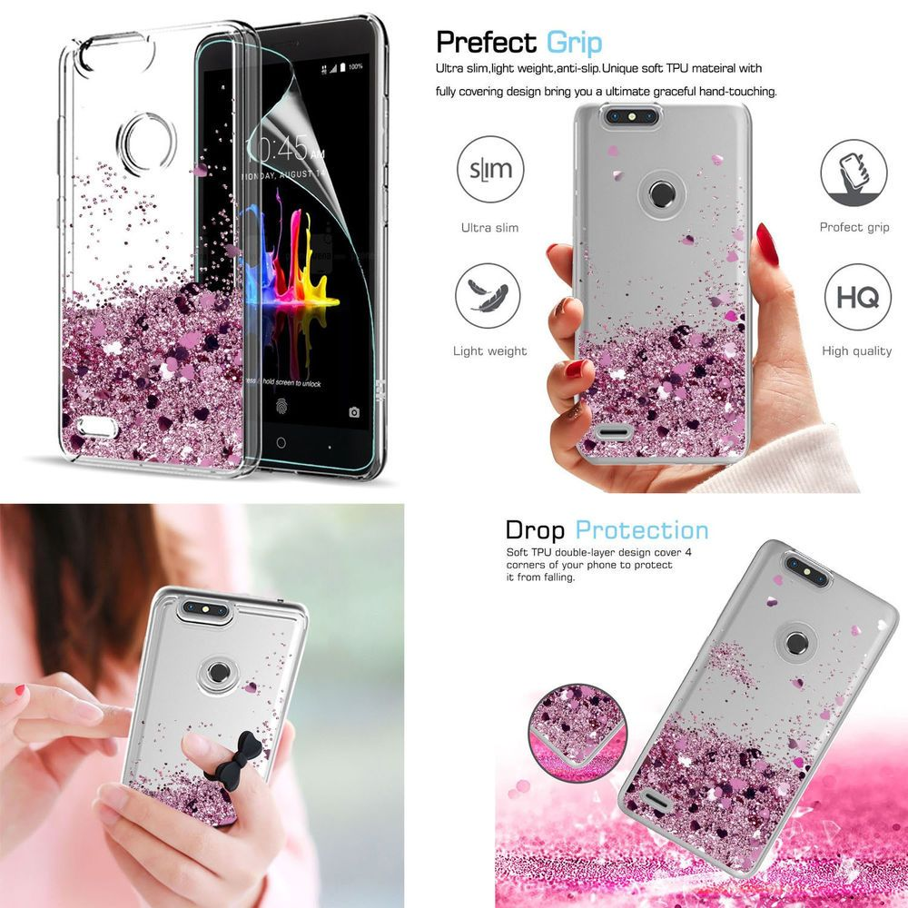 huge selection of e1ef7 82044 ZTE Blade Z Max Zmax Pro 2 Liquid Case Cover with HD Screen ...