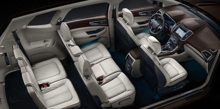 Novo Ford Edge  Interior