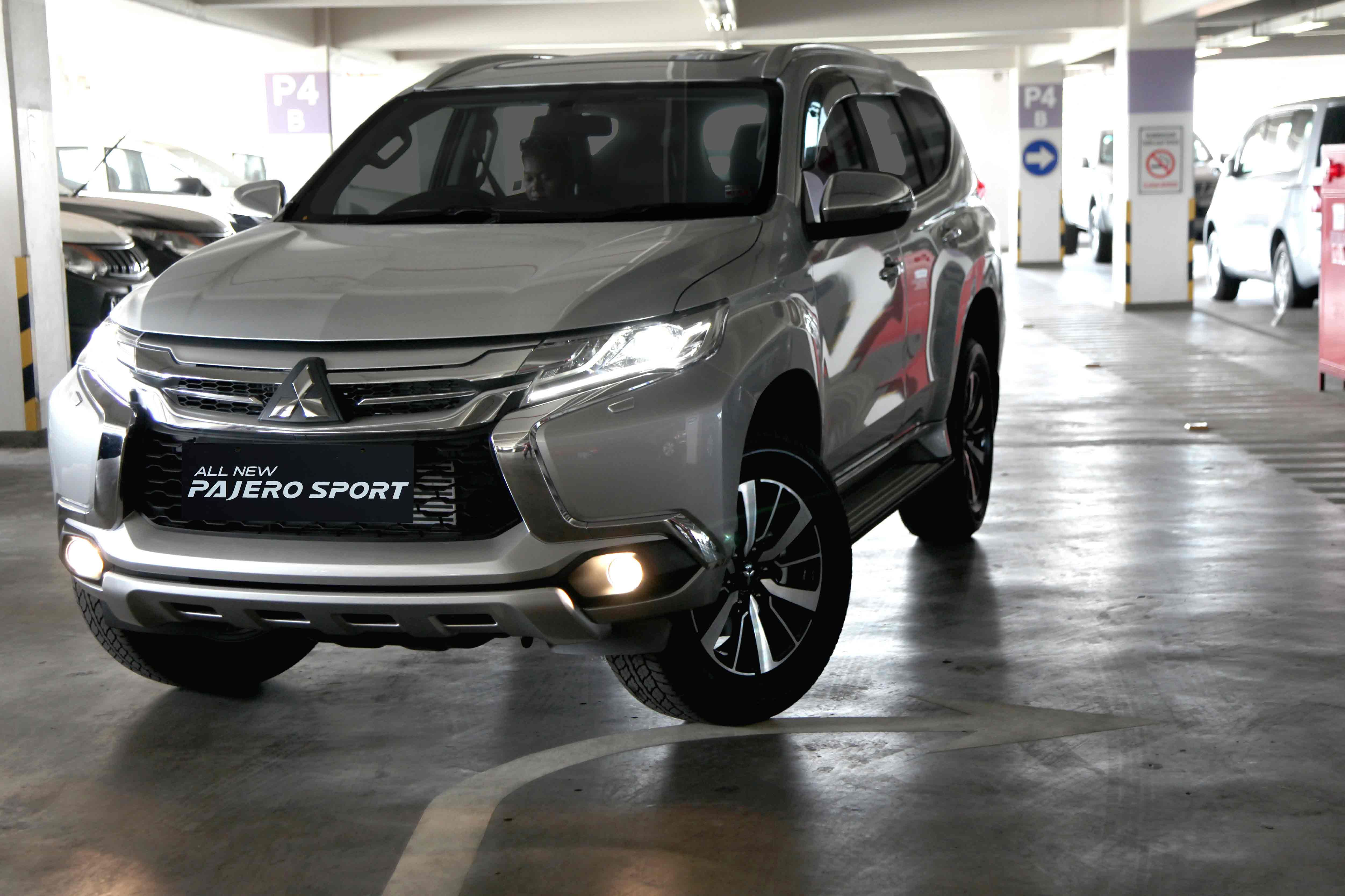 The all new pajero sport 2016 indonesia