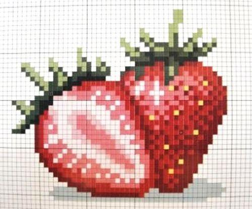 Ягодки и плодики ... вышивка крестом летние темы. Обсуждение на LiveInternet - Российский Сервис Онлайн-Дневников