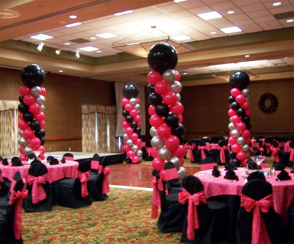 Decoracion de 15 a os con globos decoraci n para fiestas for Decoracion de globos para hombres