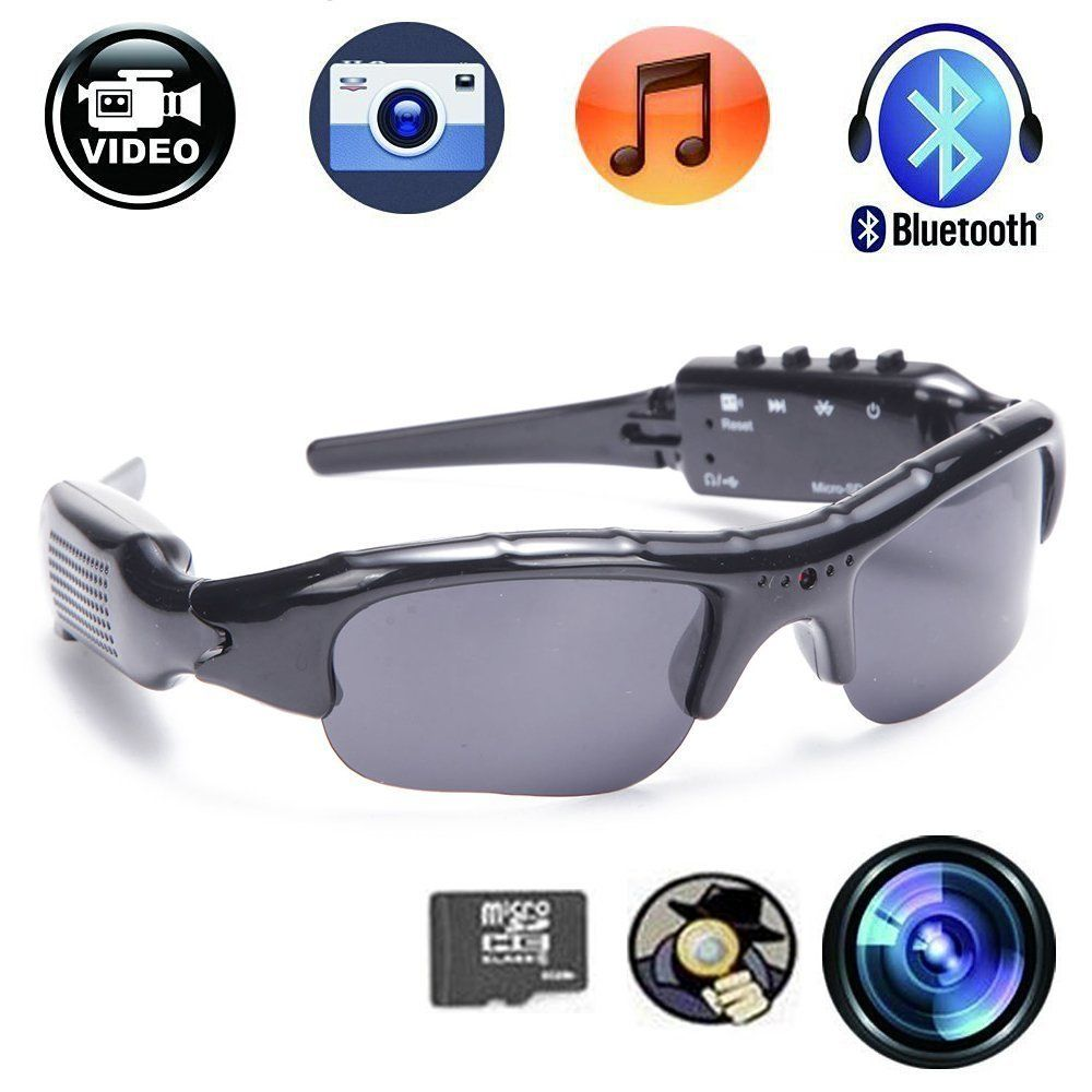 CFY Sunglasses Camera With Bluetooth Spy Camera Sports