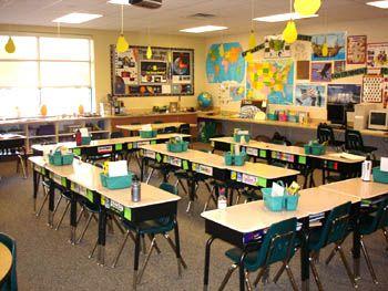 Elementary Classrooms Of The Future : Elementary classroom themes google search future teacher stuff