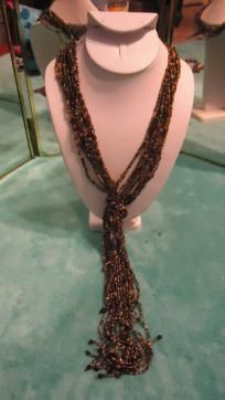 Beautiful Beaded necklace by Lane Bryant