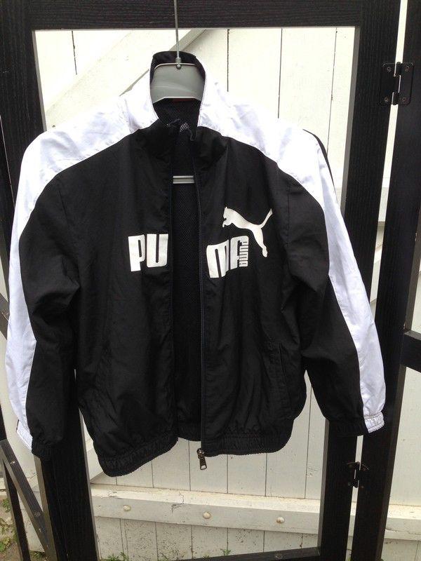 2ebcbab888 Veste noire de survêtement Puma Puma ! Taille 8 ans à seulement 6.00 €. Par