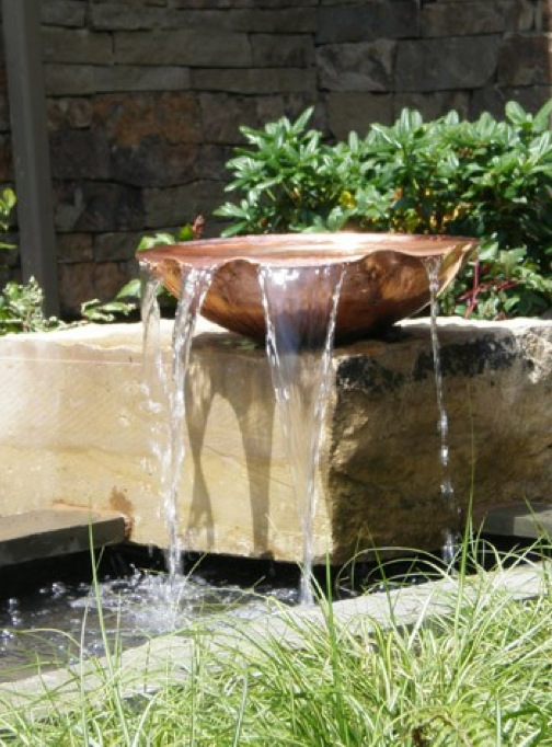 Copper Water Feature Design Ideas, Pictures, Remodel And Decor