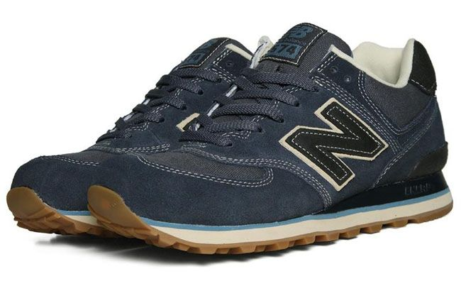 New Balance 574 | Gum & Navy