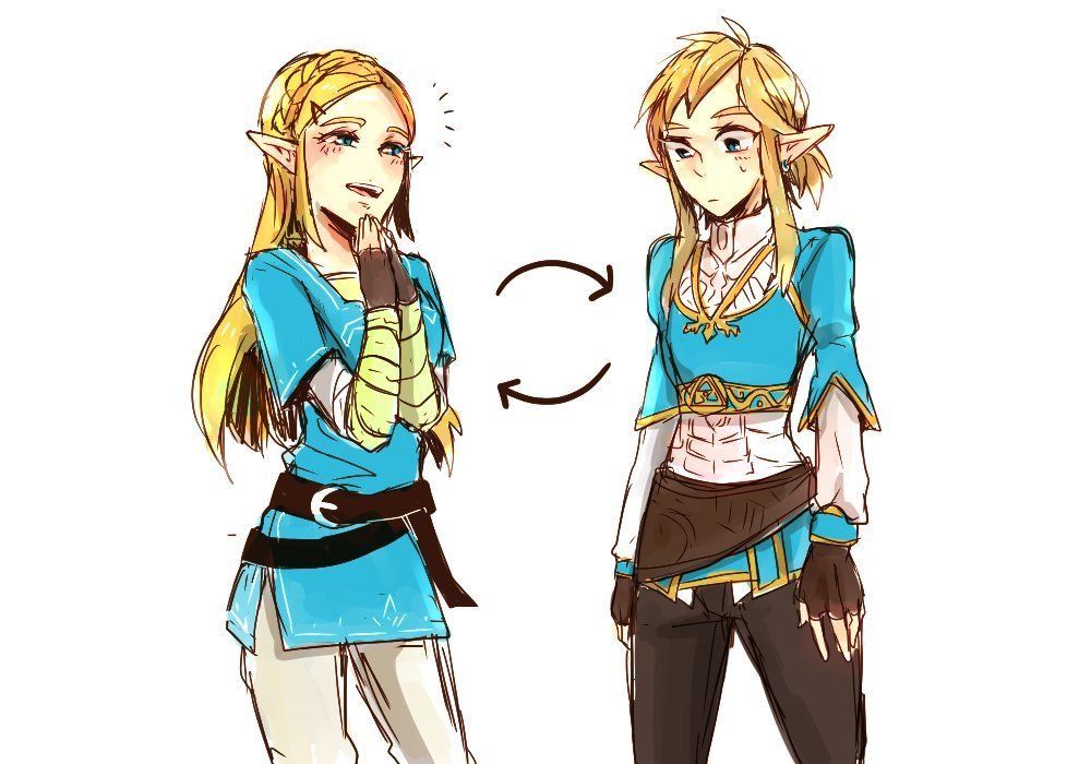 Link Actually Looks Pretty Cute In Zelda S Outfit Legend