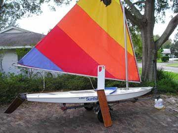 Sunfish Sailboat For Sale Sunfish Sailboat For Sale Sailboats For Sale Used Boats