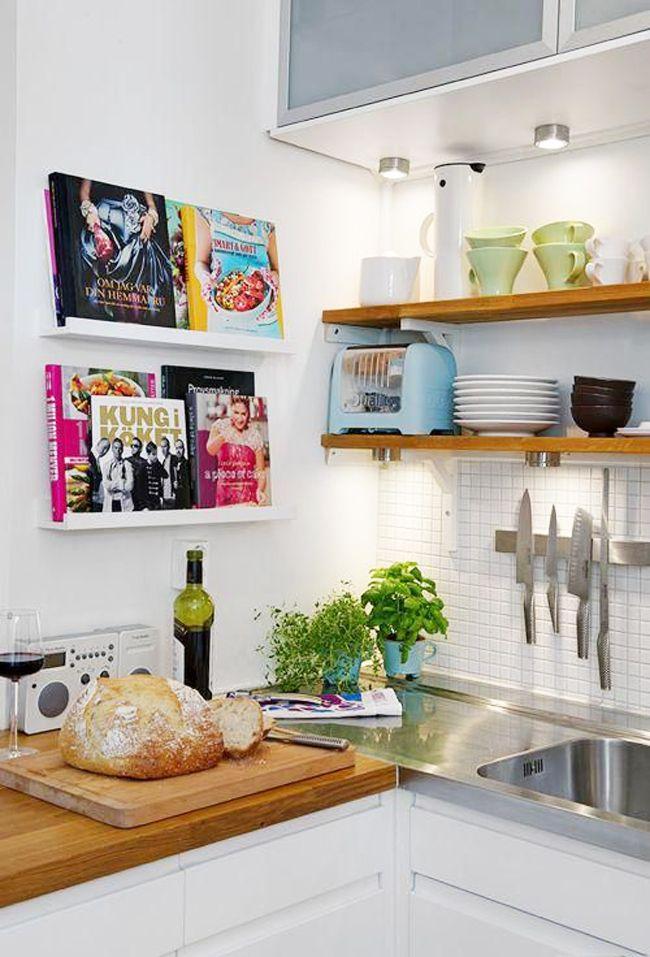 tips-deco-11-ideas-para-cocinas-pequenas-small-kitchen-deco ...