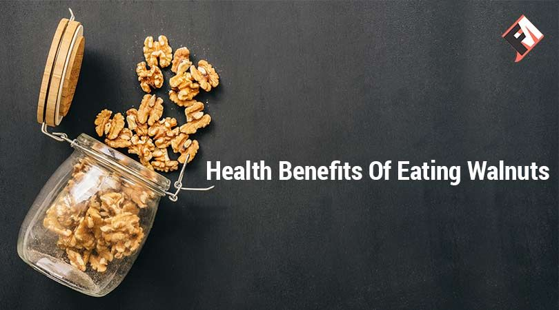 There are lots of health benefits of eating walnuts. It looks like the shape of ...